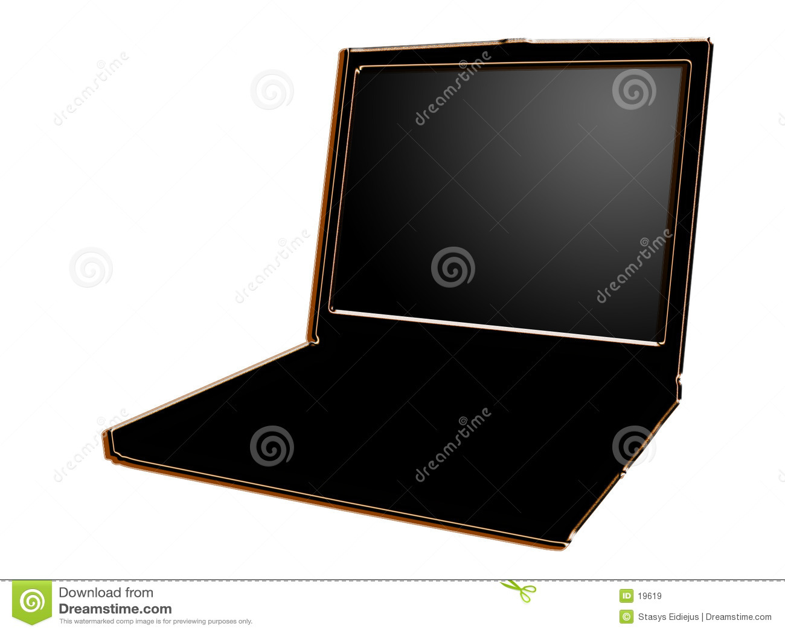 Stilisiert Laptop