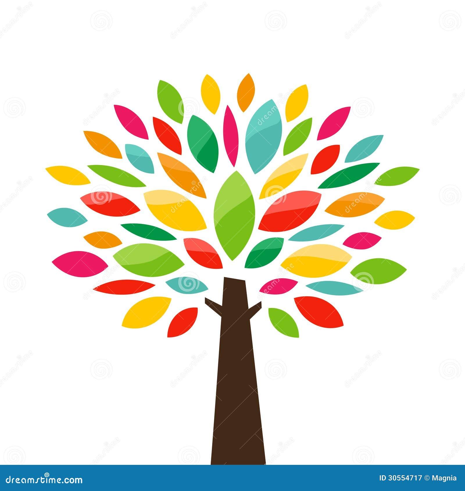 Stilisierter Baum