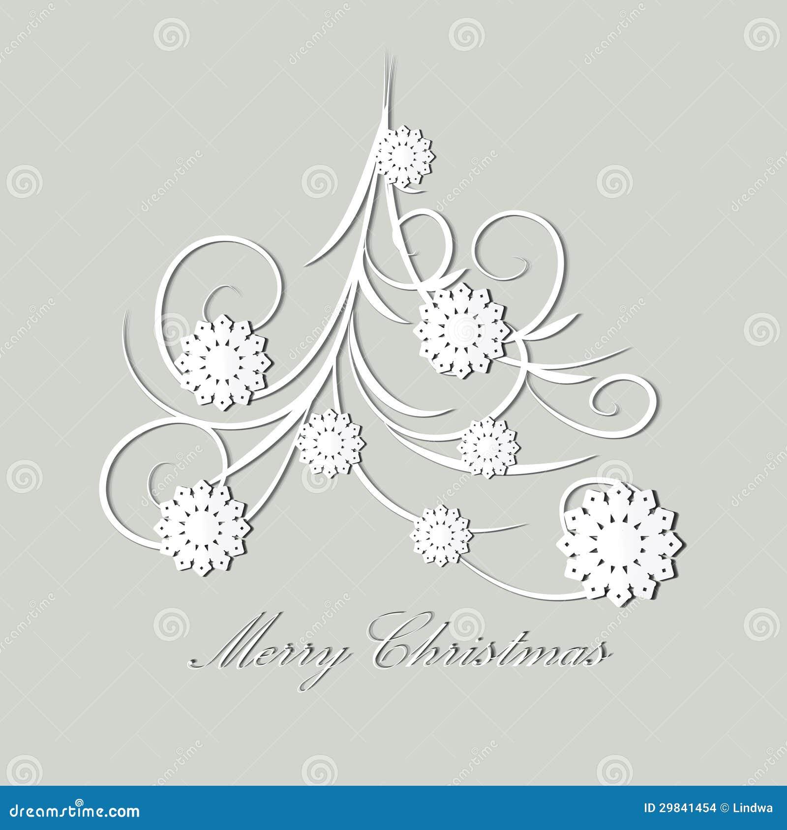 stilisierter weihnachtsbaum stockbilder bild 29841454. Black Bedroom Furniture Sets. Home Design Ideas