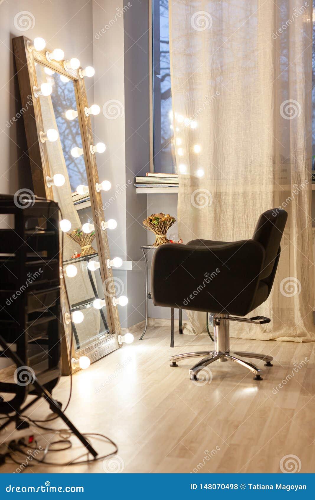 Stilista del posto di lavoro, parrucchiere, barbiere, salone di Beauty del truccatore