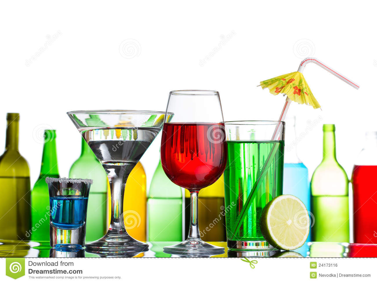 Still-life of alcohol  Alcohol