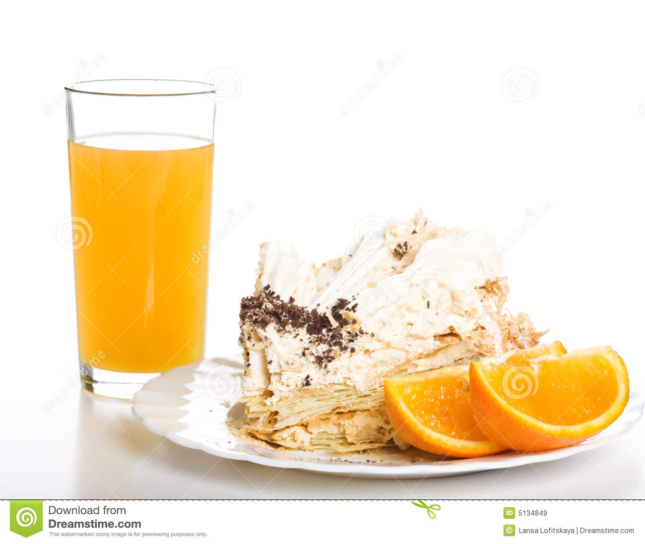Chocolate And Orange Juice Cake
