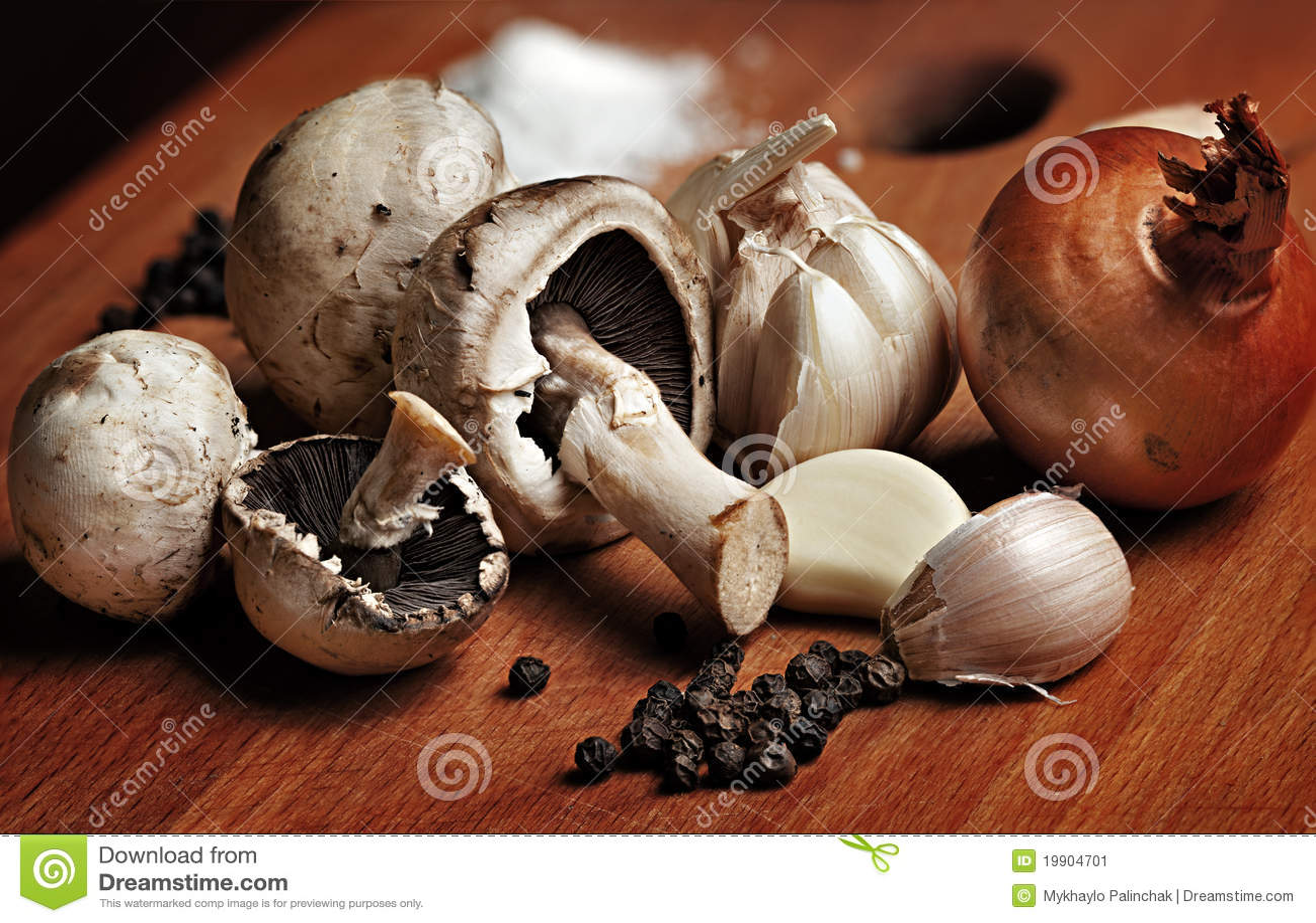 how to cook champignon mushrooms