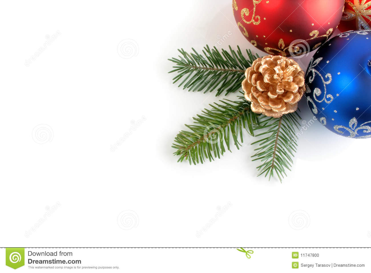 Still life of christmas new year decorations stock photo for New christmas decorations