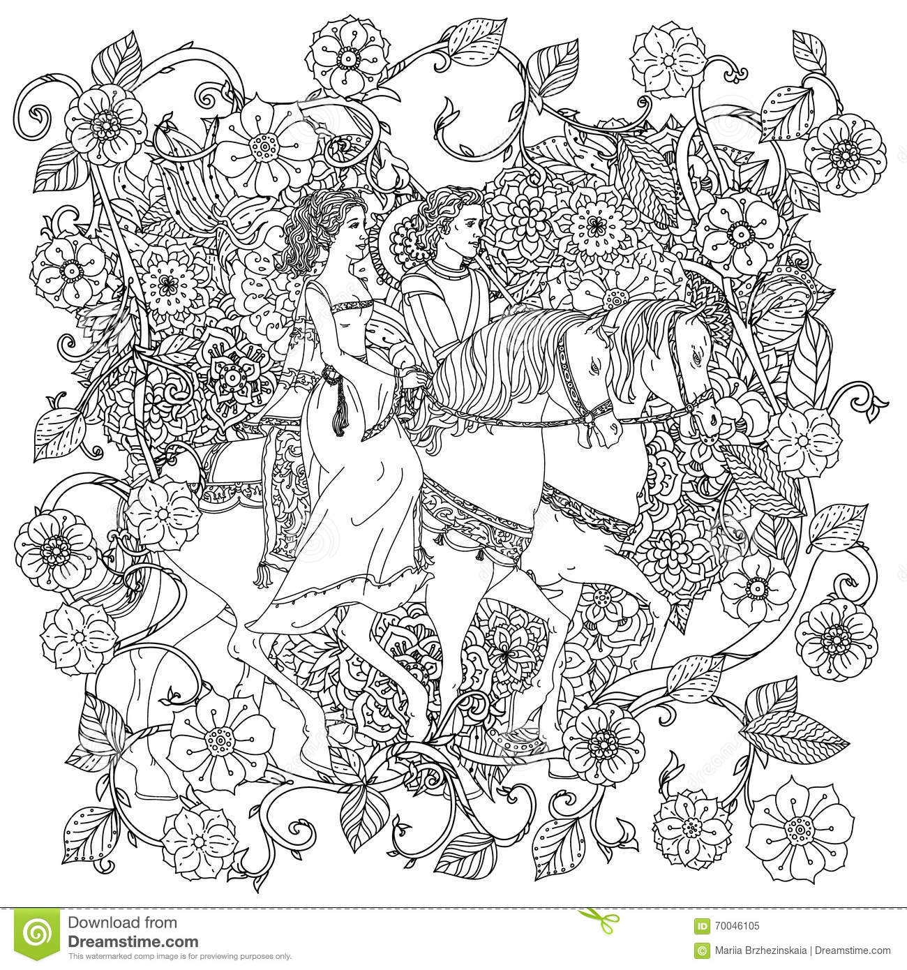 Secret garden colouring in book nz - The Secret Garden Coloring Book Uae Princess Coloring Book For