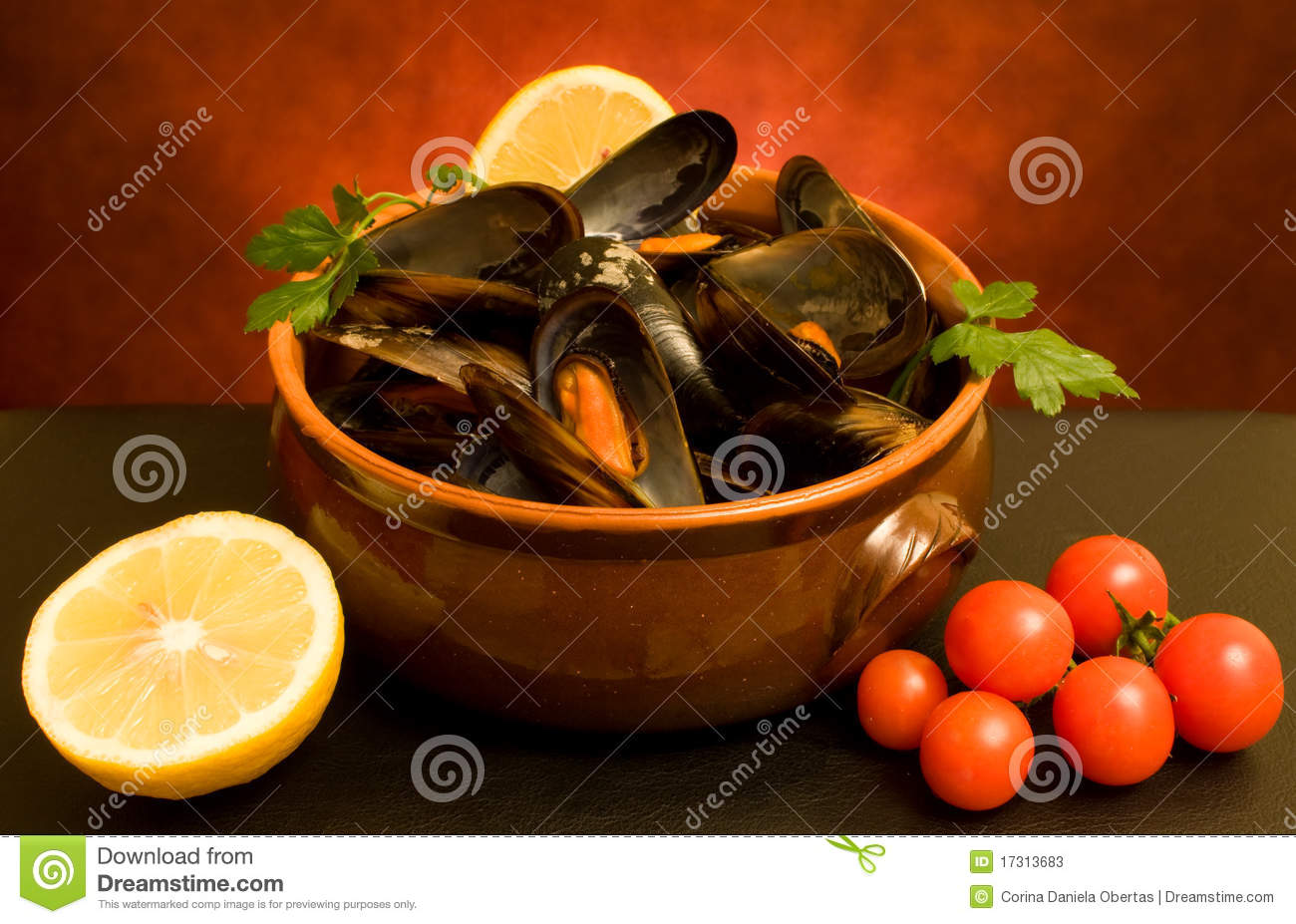 Still Life With Mussels