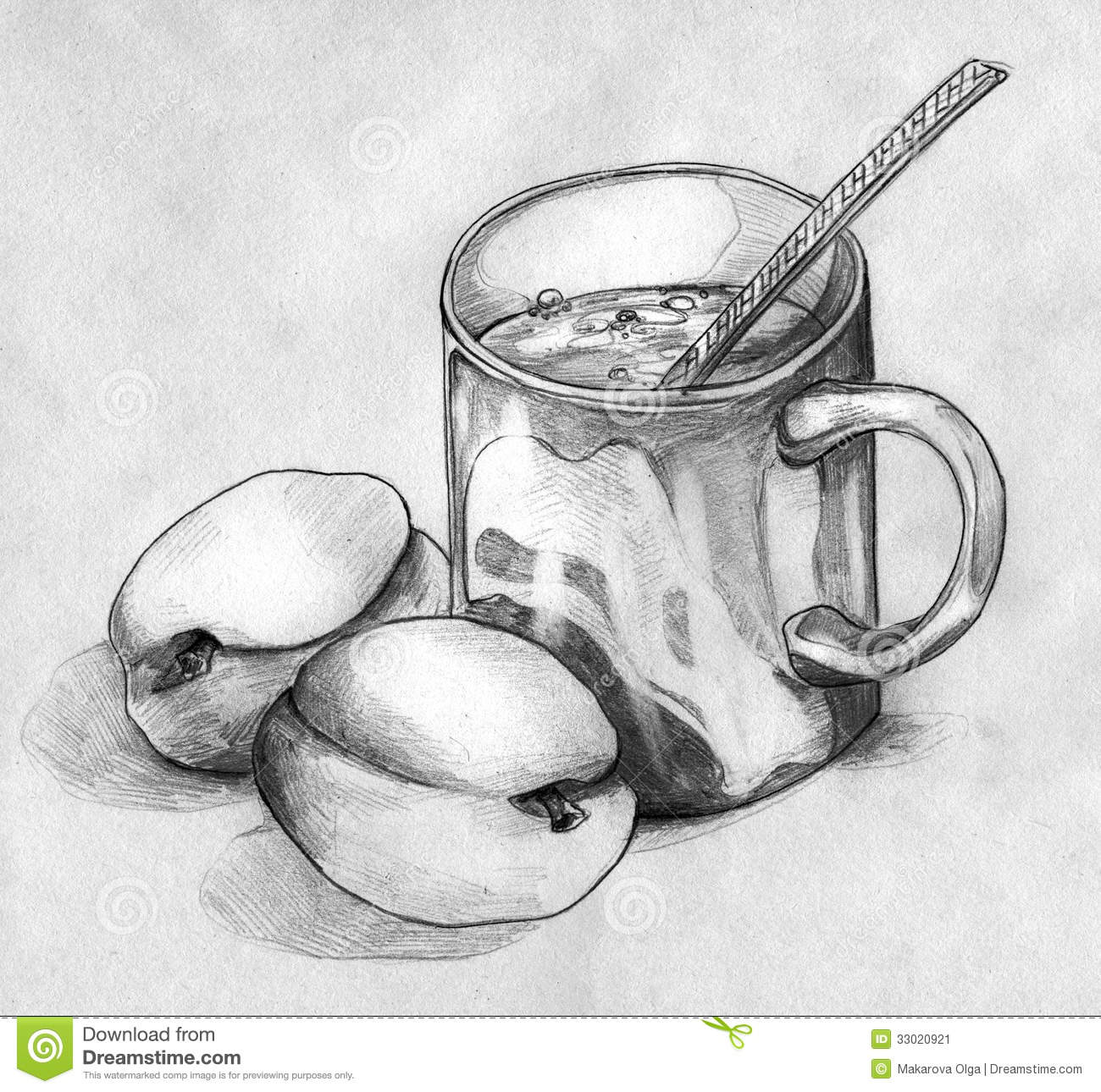 how to draw a glass cup