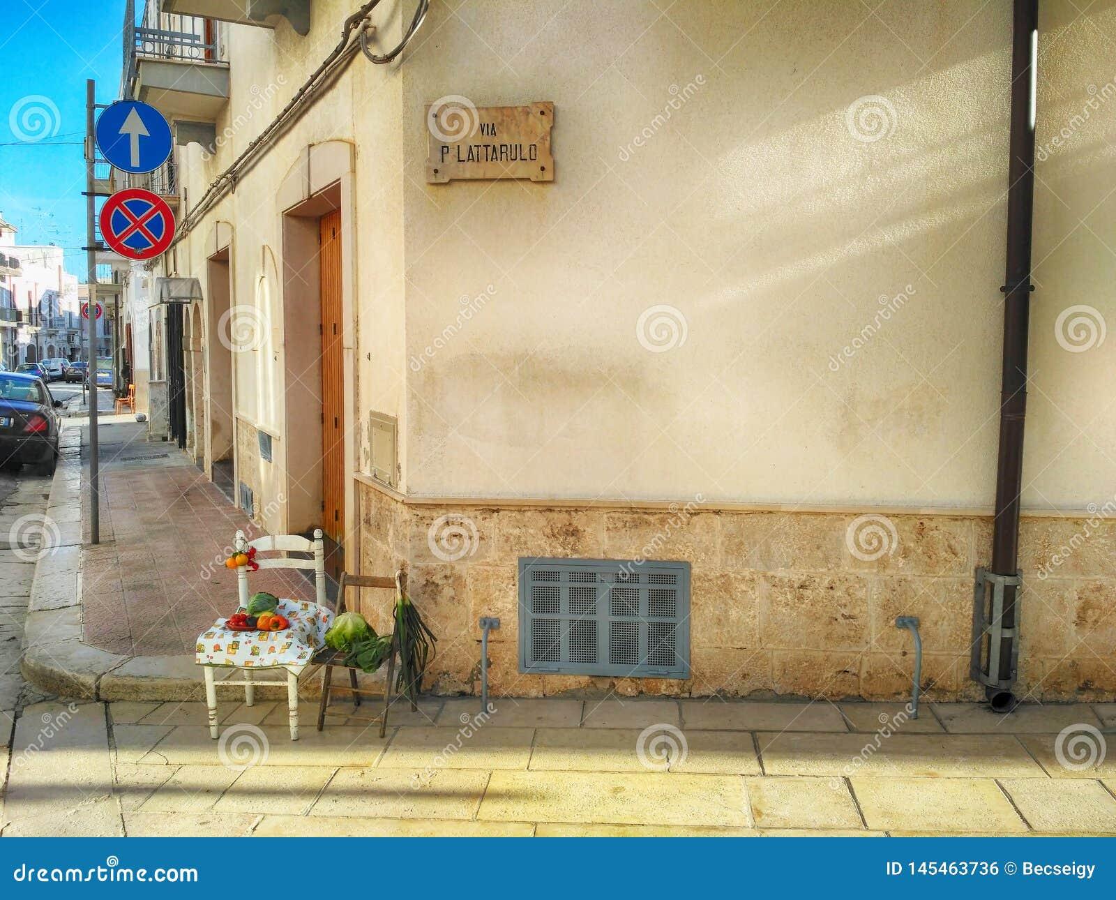 Still life in South Italy