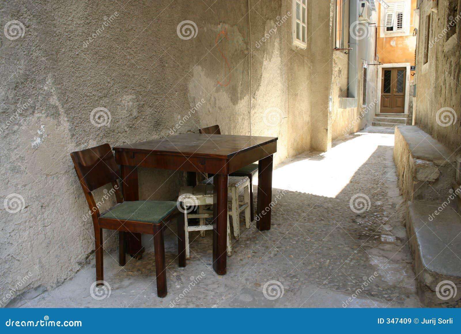 Still life - table&chair