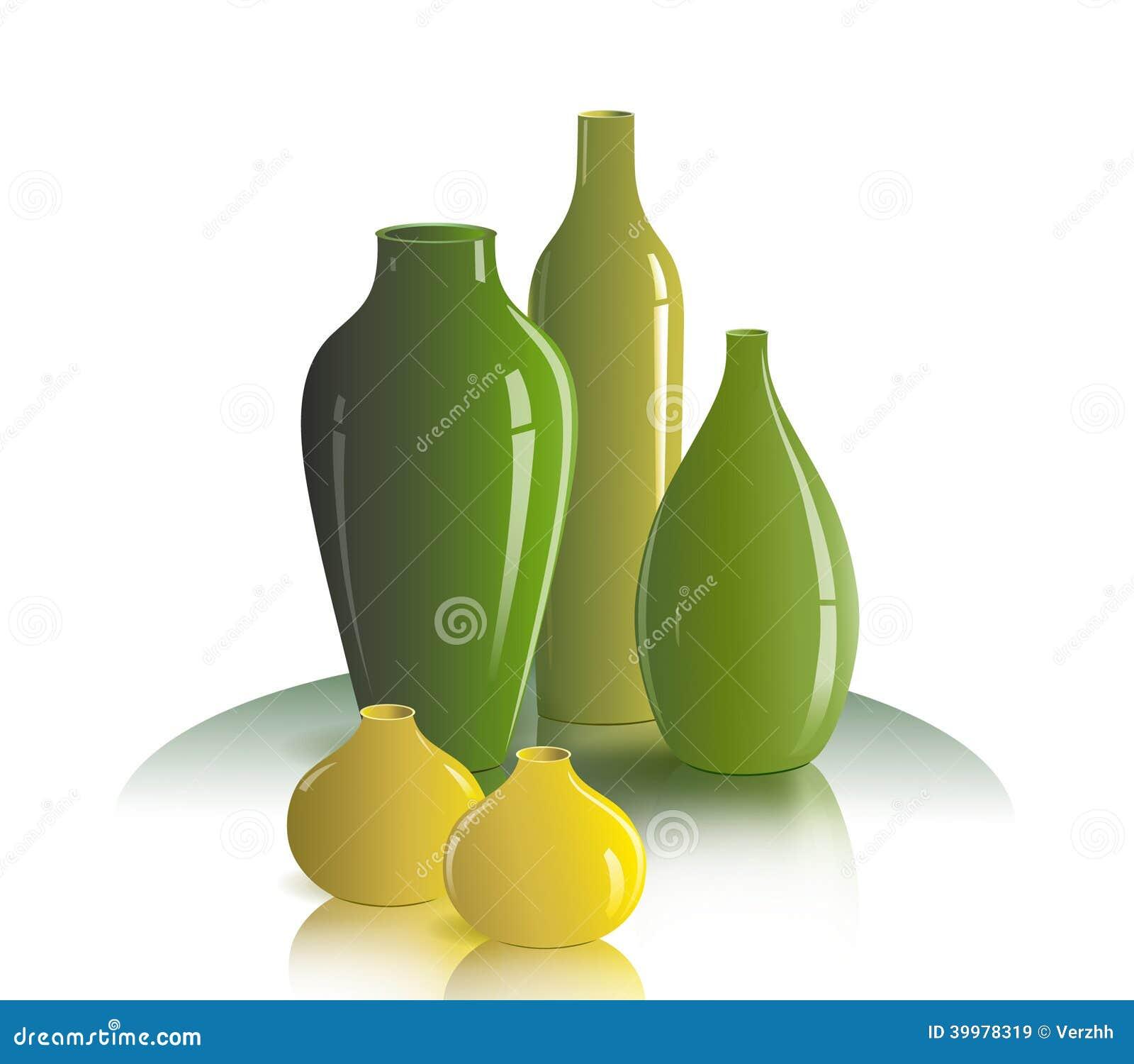 Still life of vases stock vector illustration of nature 39978319 still life of vases reviewsmspy