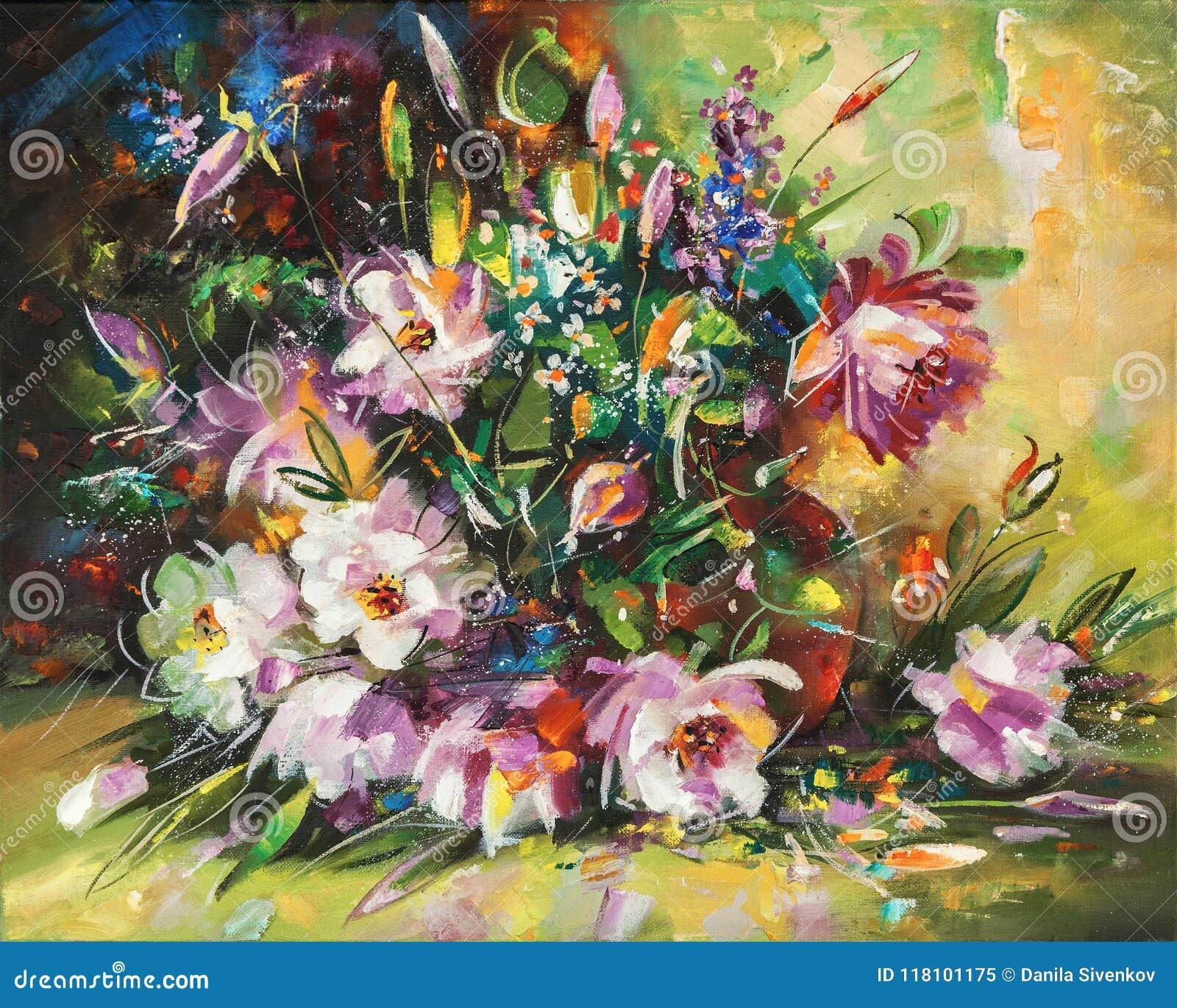Artwork. Flowers. Author: Nikolay Sivenkov.