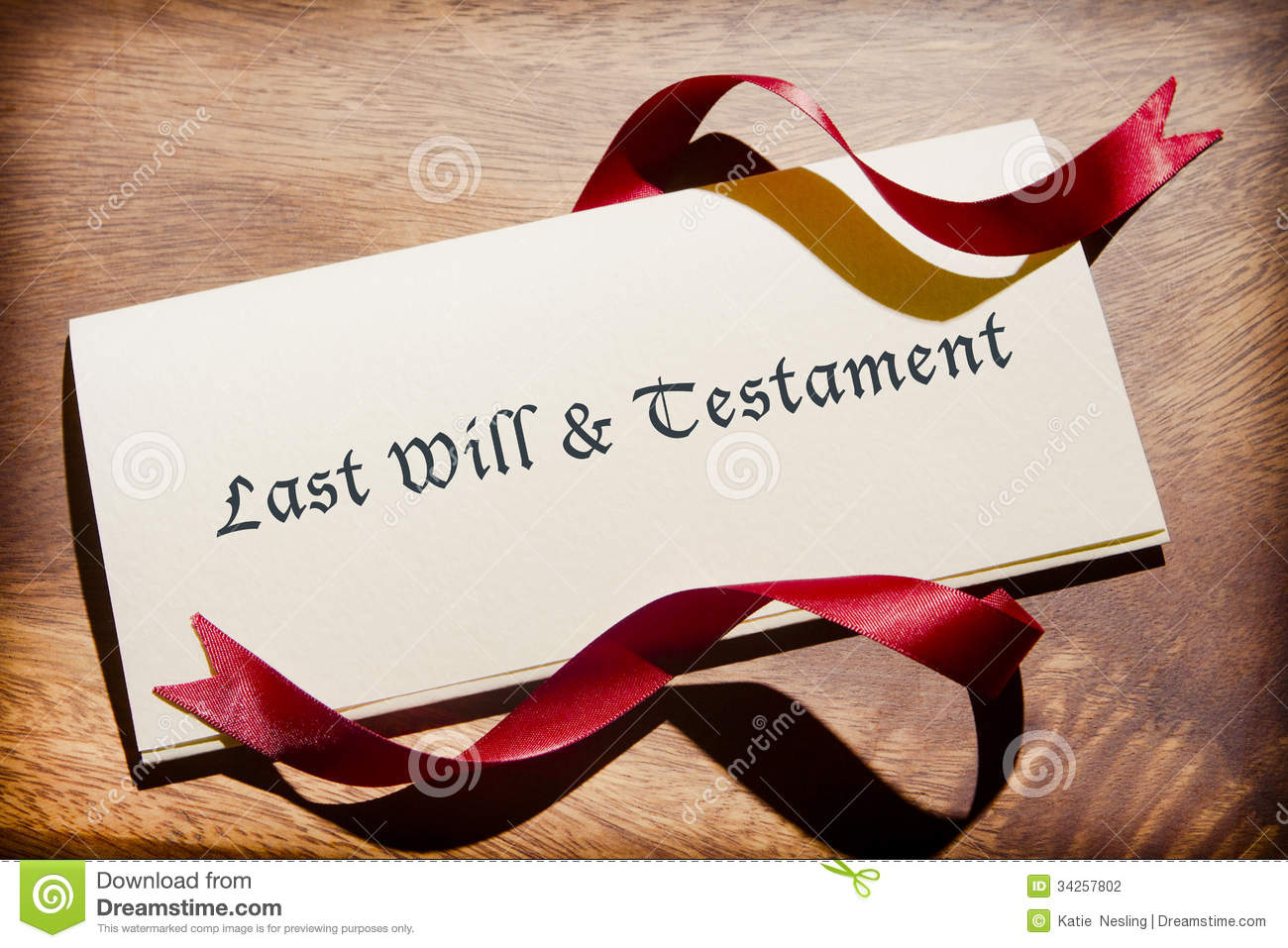 Still Life Of Will Document On Desk Stock Photo Image Of Nobody - Legal will document download