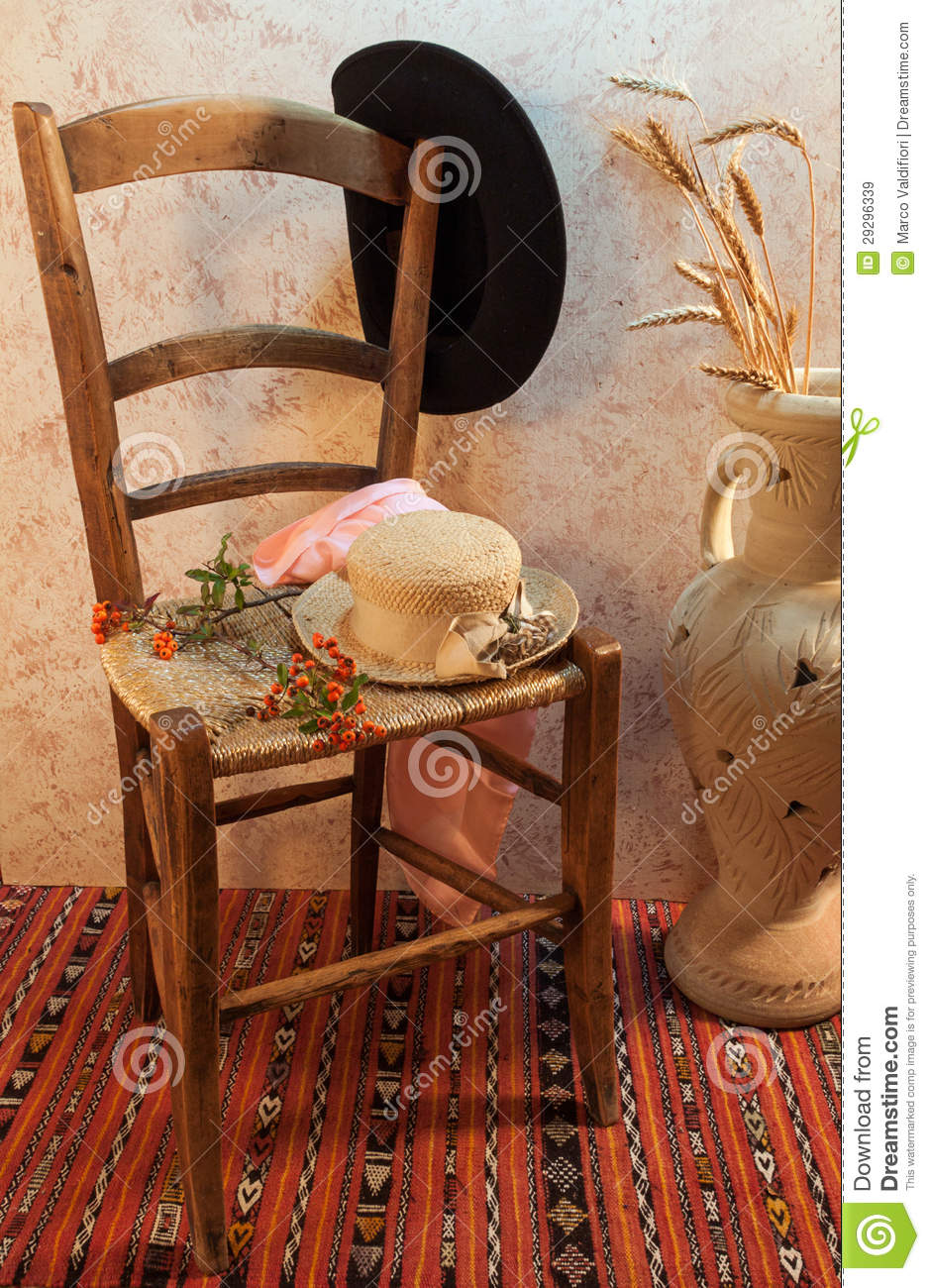 Still Life With Wood Chair Royalty Free Stock Images ...