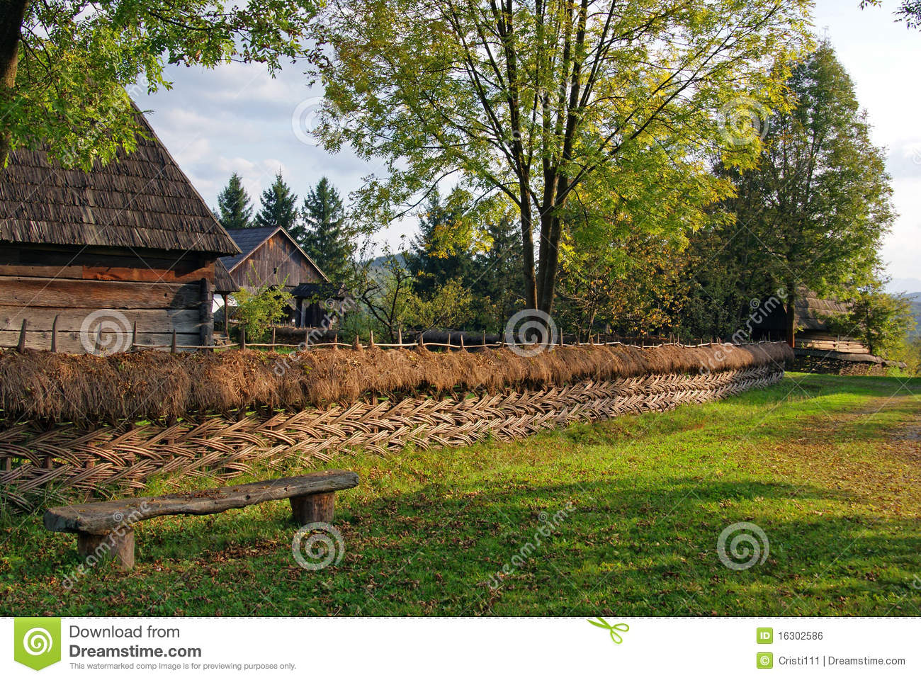 Still Rustic Landscape Royalty Free Stock Image Image