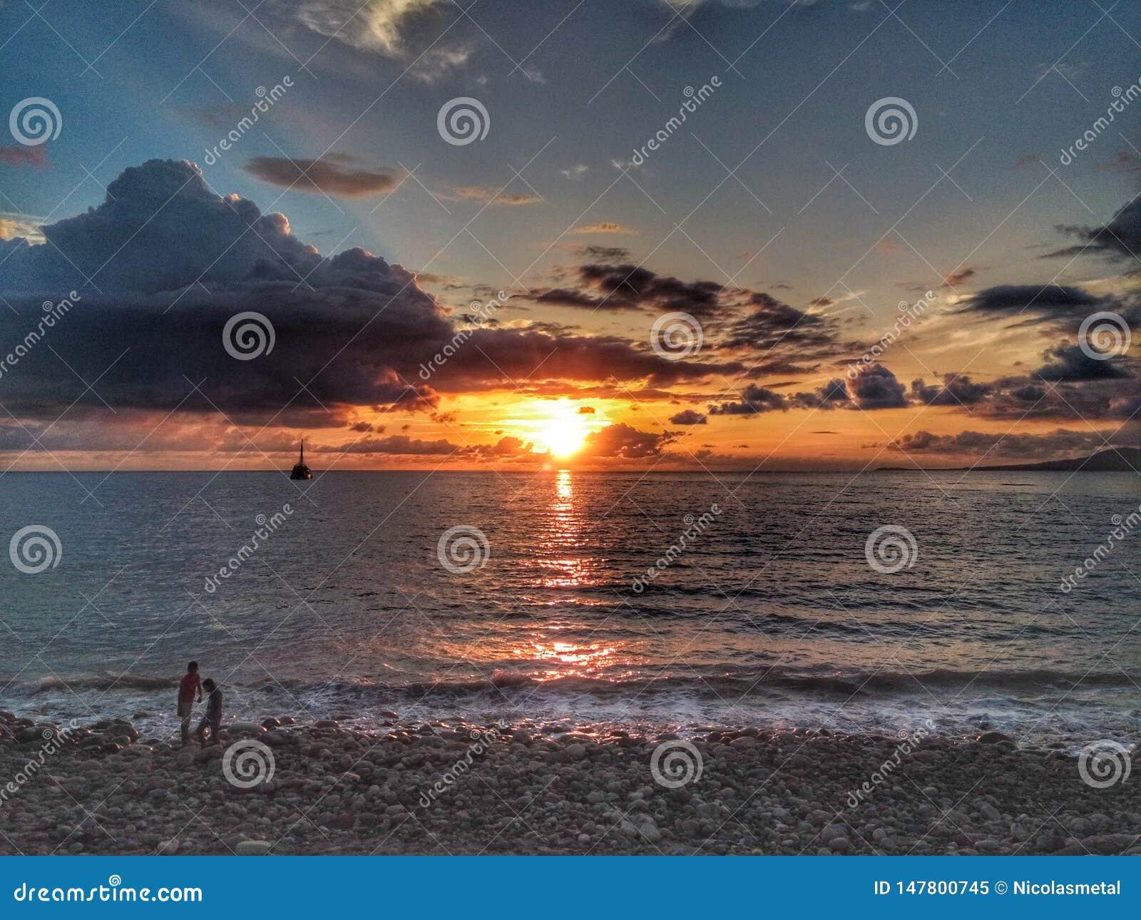 Stilla havet och sikten
