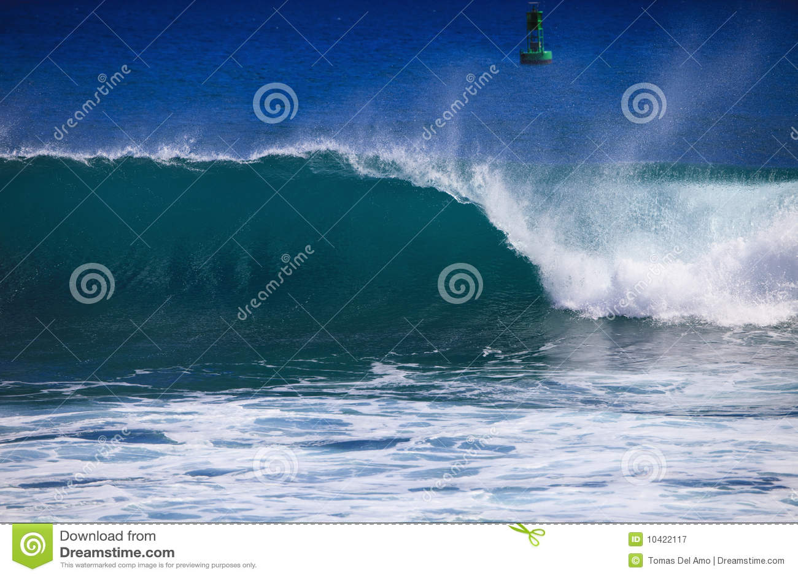 Stillahavs- wave för avbrottsvapenhav