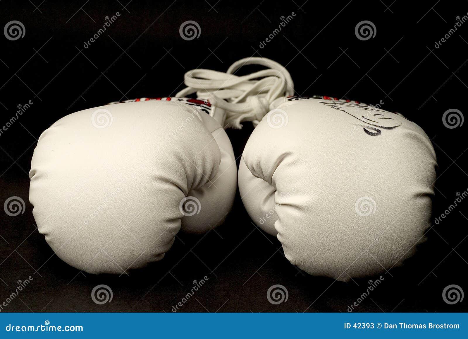 Stillstehende Handschuhe