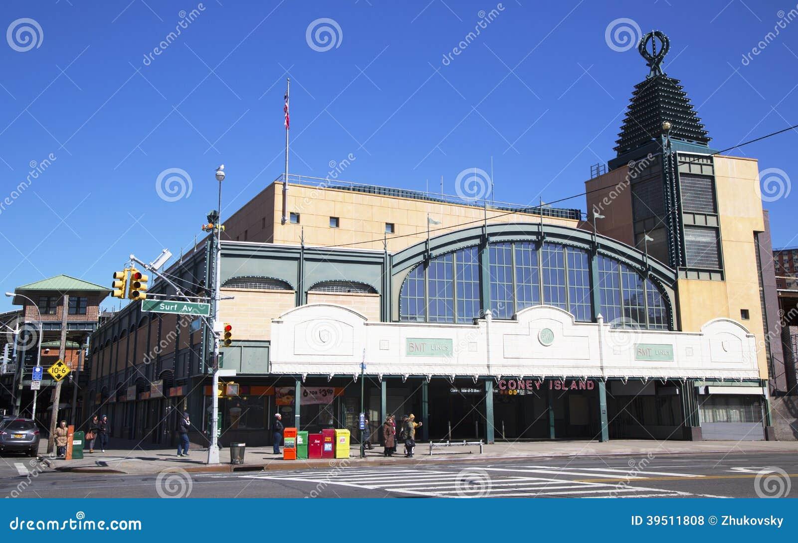 Stillwell Avenue Subwa... Subway Vector