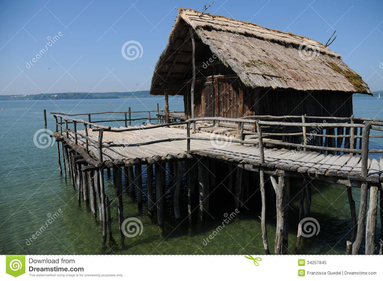 Royalty free stock photo stilt house pile dwelling for House piles