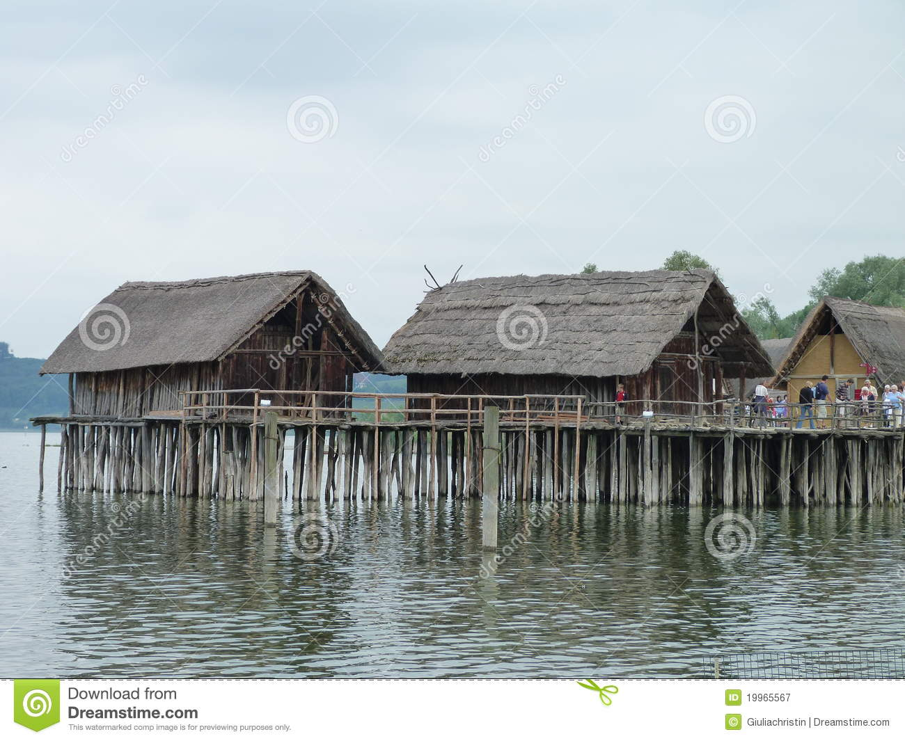 Stilt Houses Editorial Photography Image Of