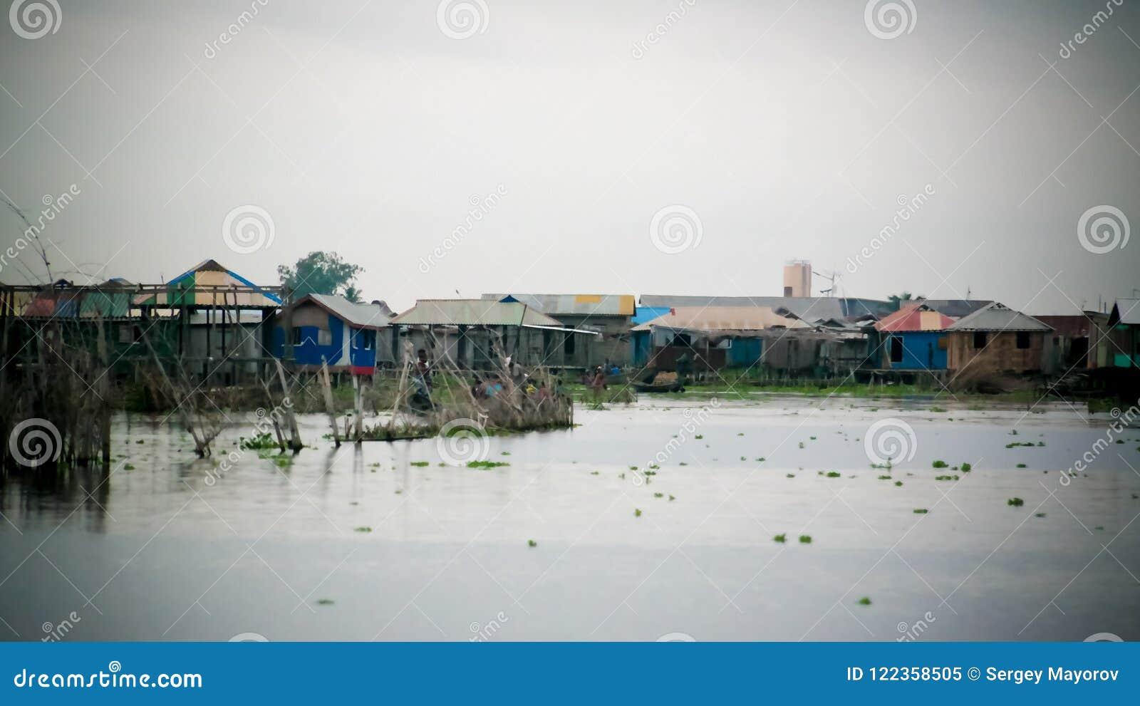 Ganvie - a village on the lake