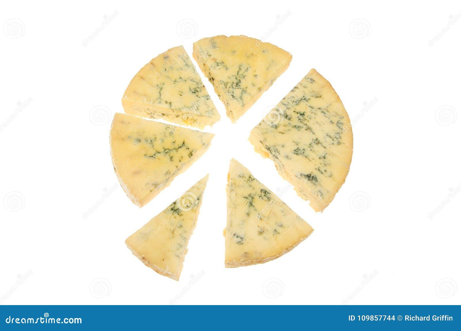 Stilton cheese pie chart