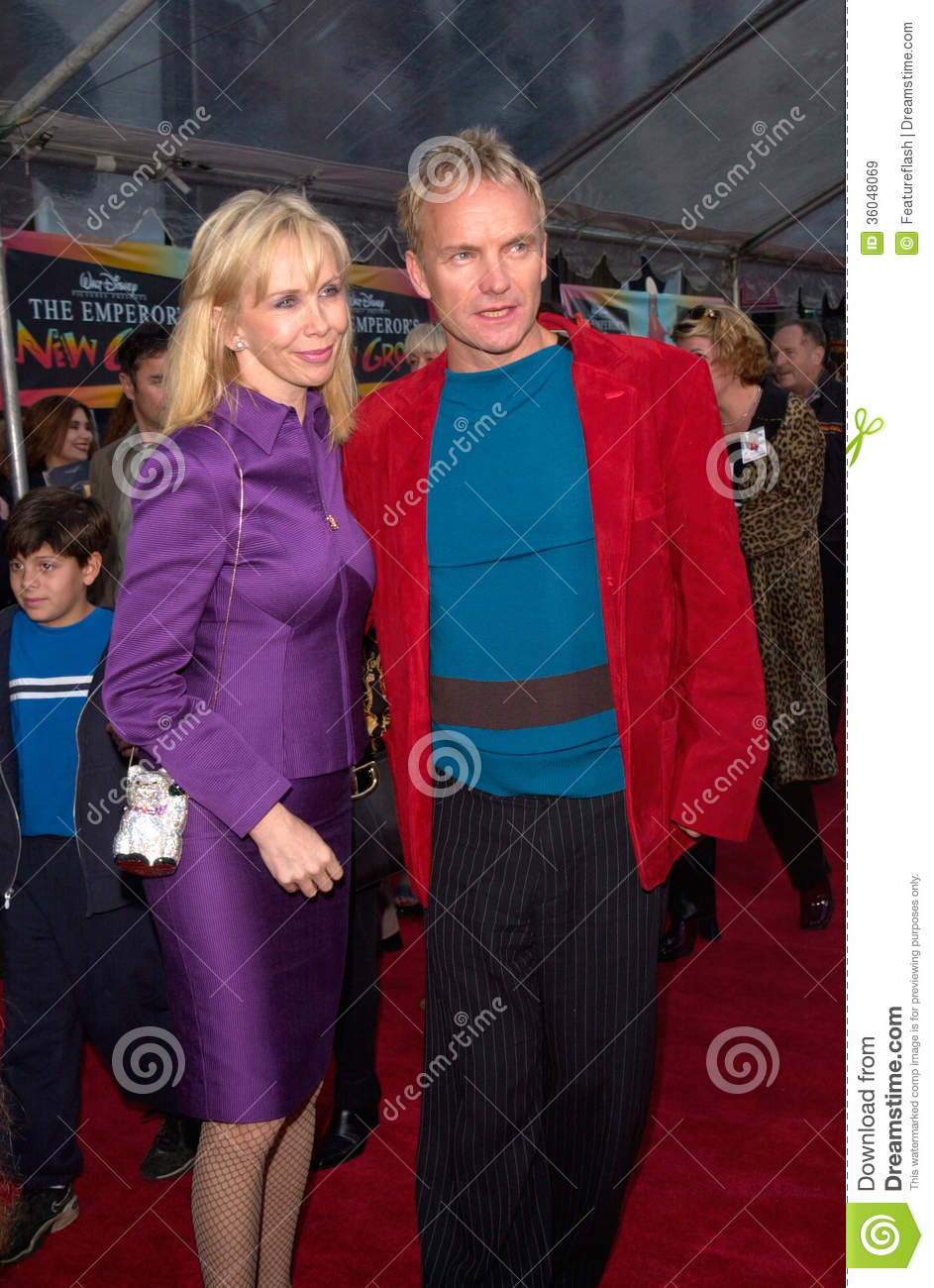 StingTrudie Styler Editorial Stock Image Image Of Emperor