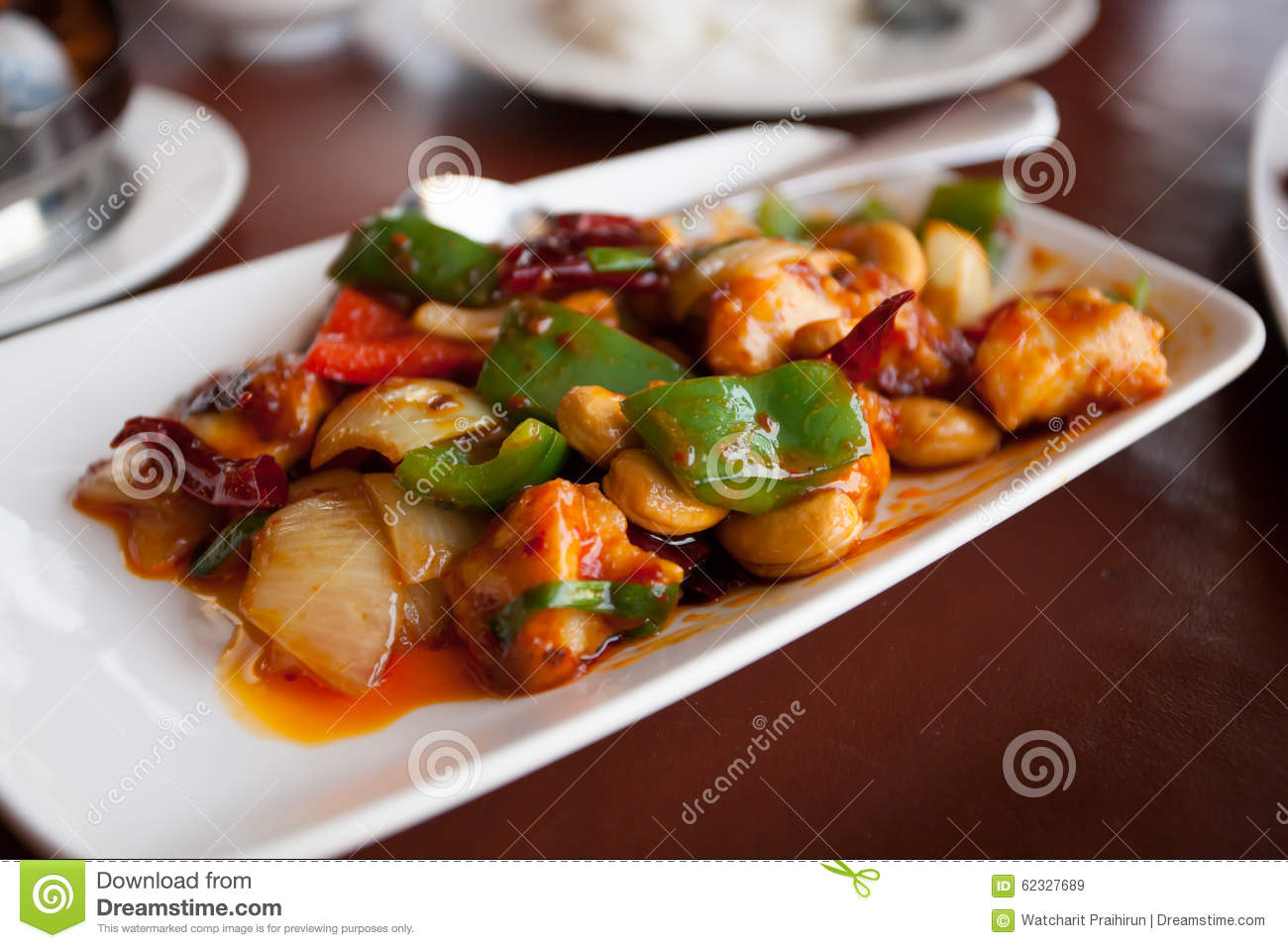 Thai Food Chicken With Cashew Nuts