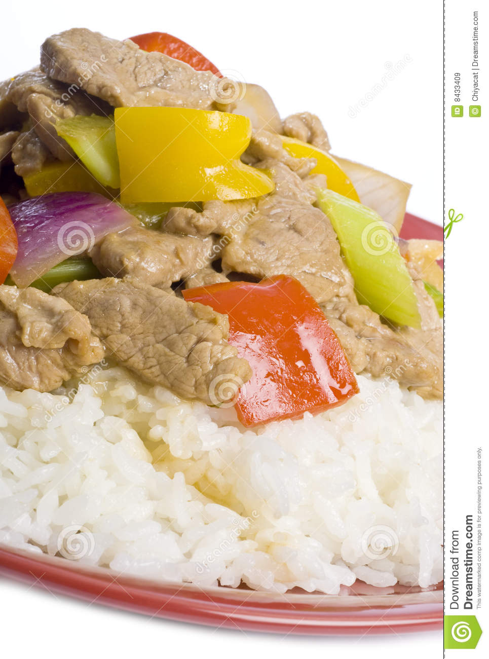 Stir Fried Pork and Vegetables