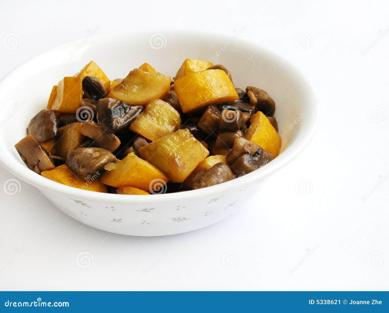 Stir fry organic vegetarian