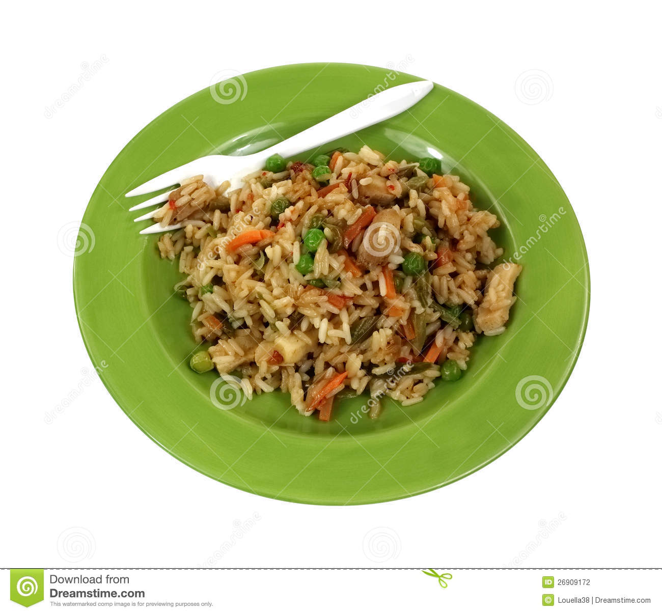 how to make rice and vegetable stir fry