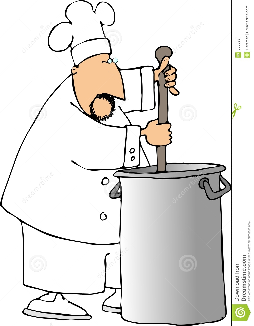 Stir The Pot Royalty Free Stock Photos - Image: 666078