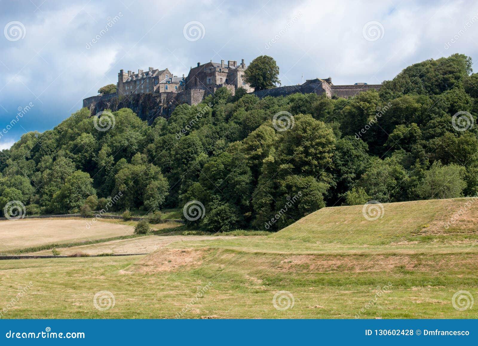 Stirling Castle est l un des plus grands et les plus importants châteaux en Ecosse Ecosse Royaume-Uni l Europe