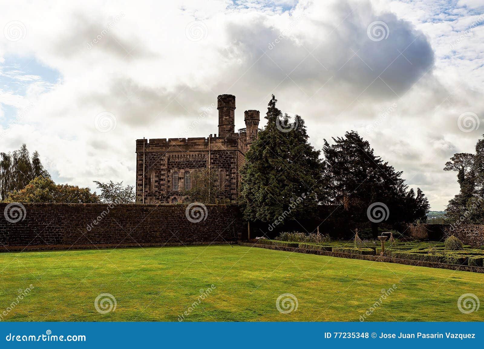 Stirling e monumentos a Robert o Bruce e o William Wallace, Escócia