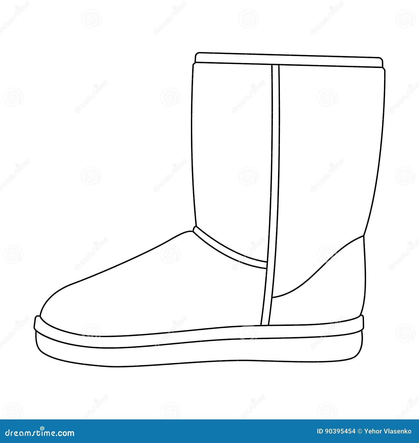 Stivali Blu Del Ugg Di Inverno Caldo Scarpe Comode Di