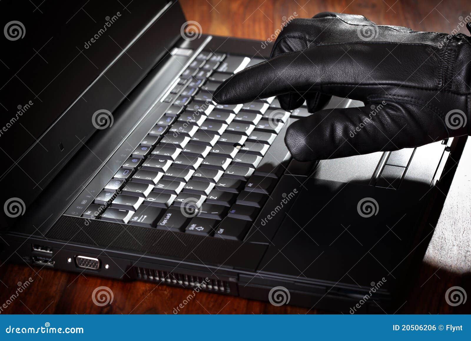Stjäla för databärbar datorman