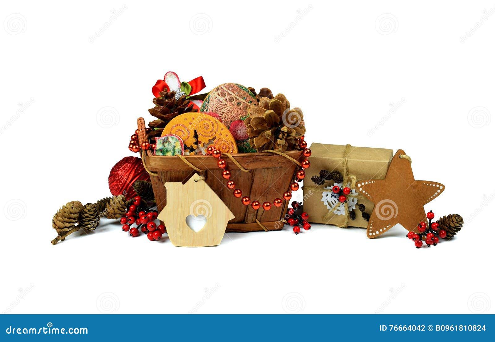 Stjärna för natt för julfractalbild Handgjord gåva Korgjulgranglitter / I