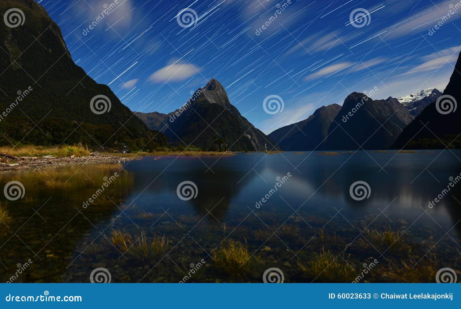 Stjärnaslinga från Milford Sound