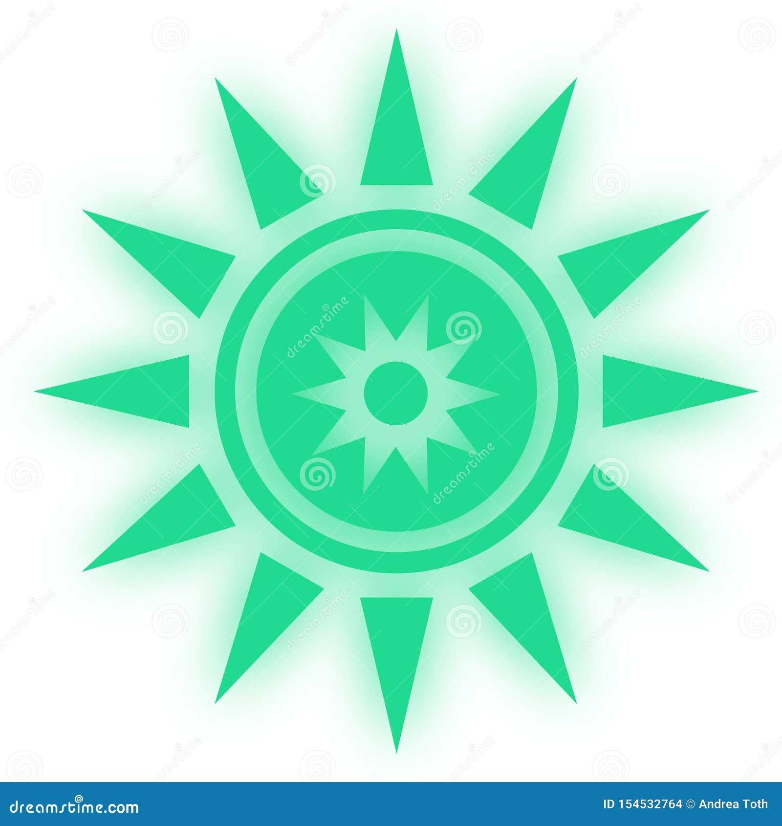 Stjärnasymbolssymbool Glansig stjärna formade rengöringsdukklistermärkear Beståndsdelstil för chakrameditation