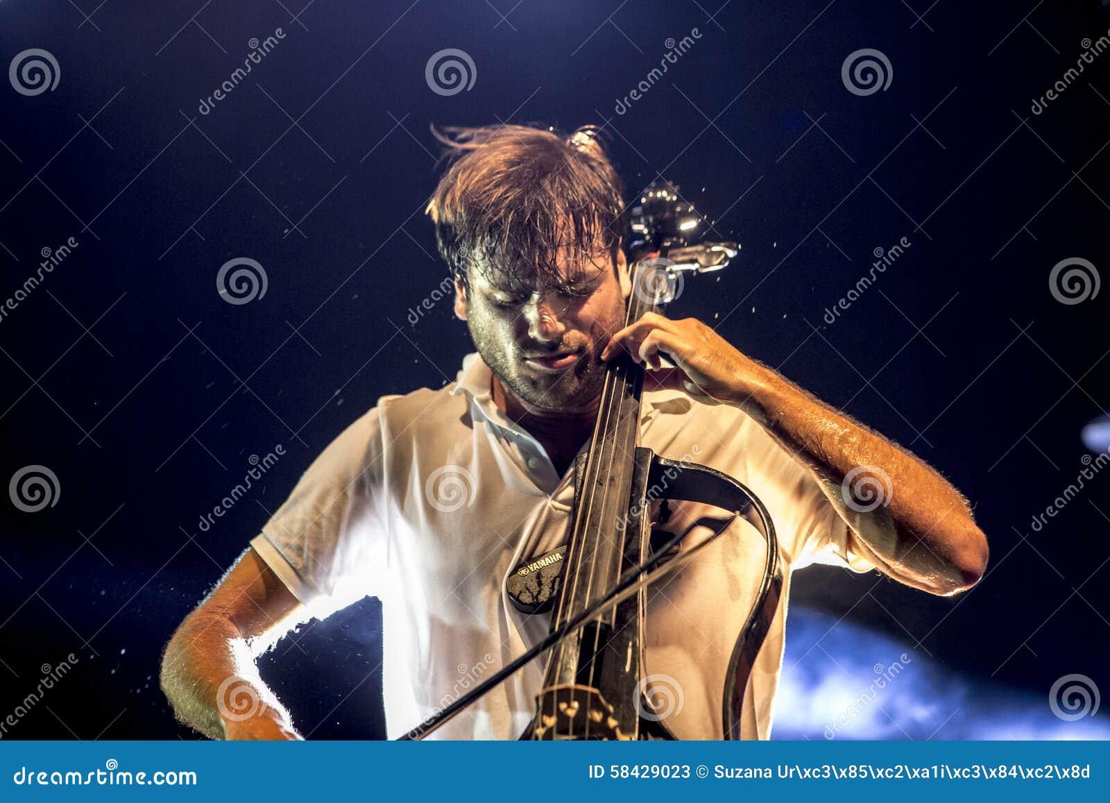 Stjepan Hauser 2cellos editorial stock photo  Image of cello - 58429023