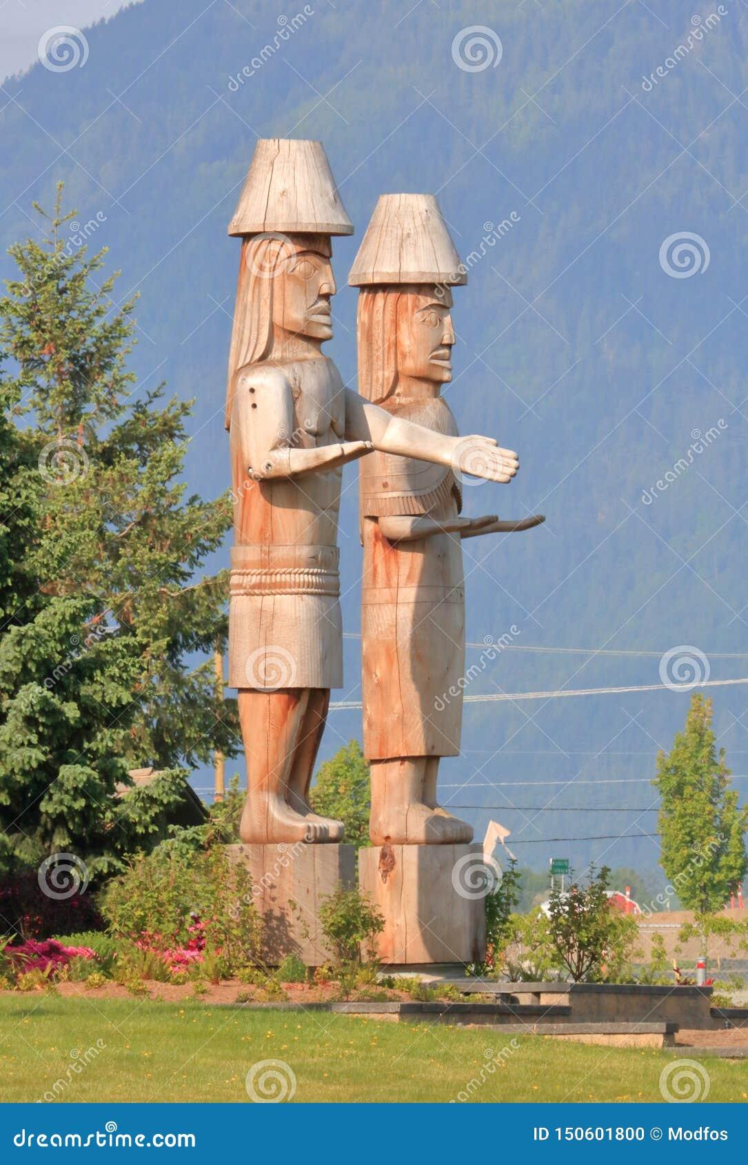 Sto: Primeras ilustraciones y estatuas de las naciones de Lo