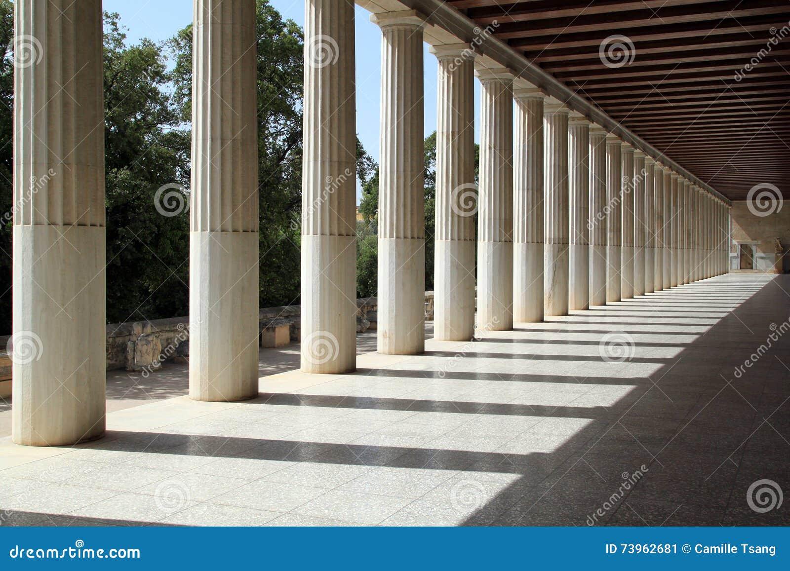 Stoa de Attalos, Atenas, Greece