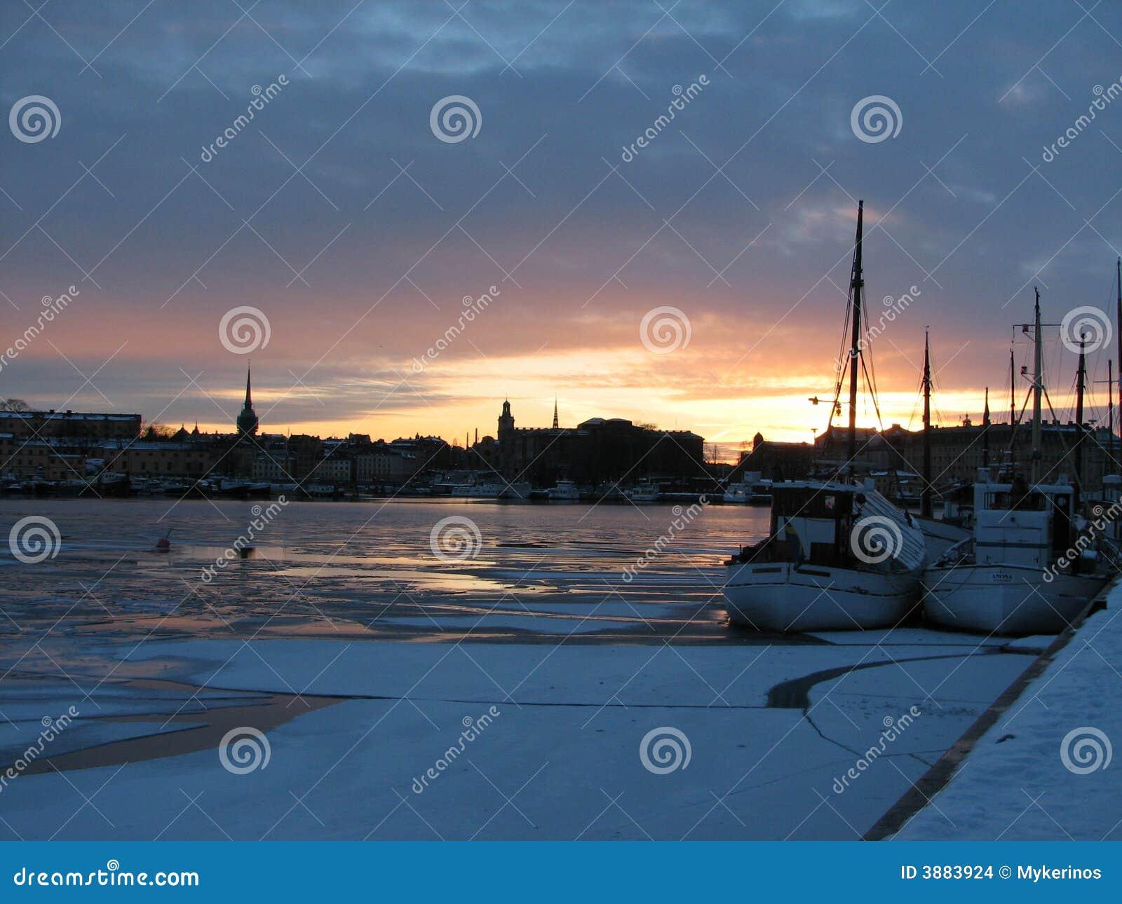 Stoccolma in sera