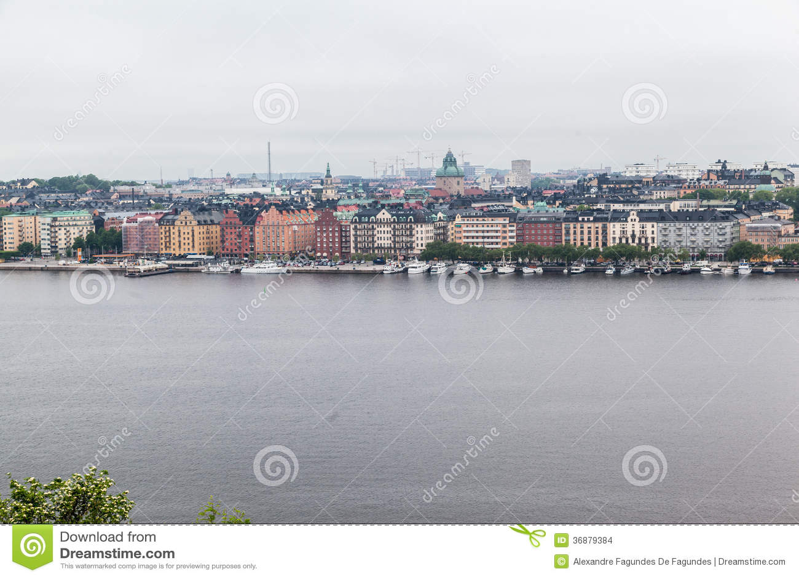 Download Stoccolma Svezia fotografia stock. Immagine di storico - 36879384