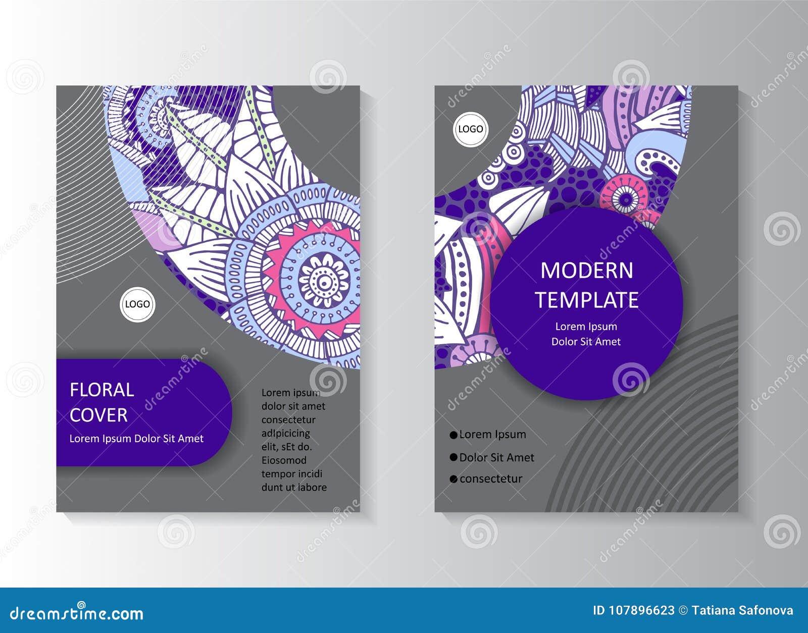 Stock Art Brochure Template Layout Design Corporate Bus Stock