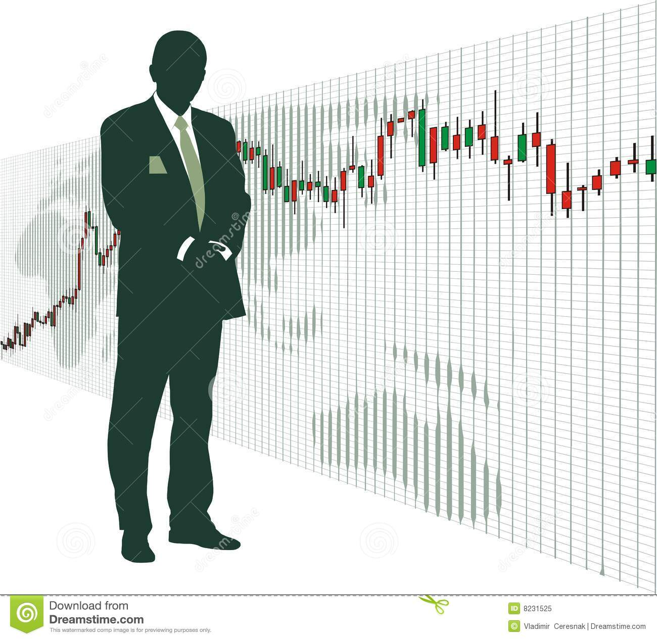 Stock Quotes Free Real Time: Stock Exchange Market Royalty Free Stock Photo