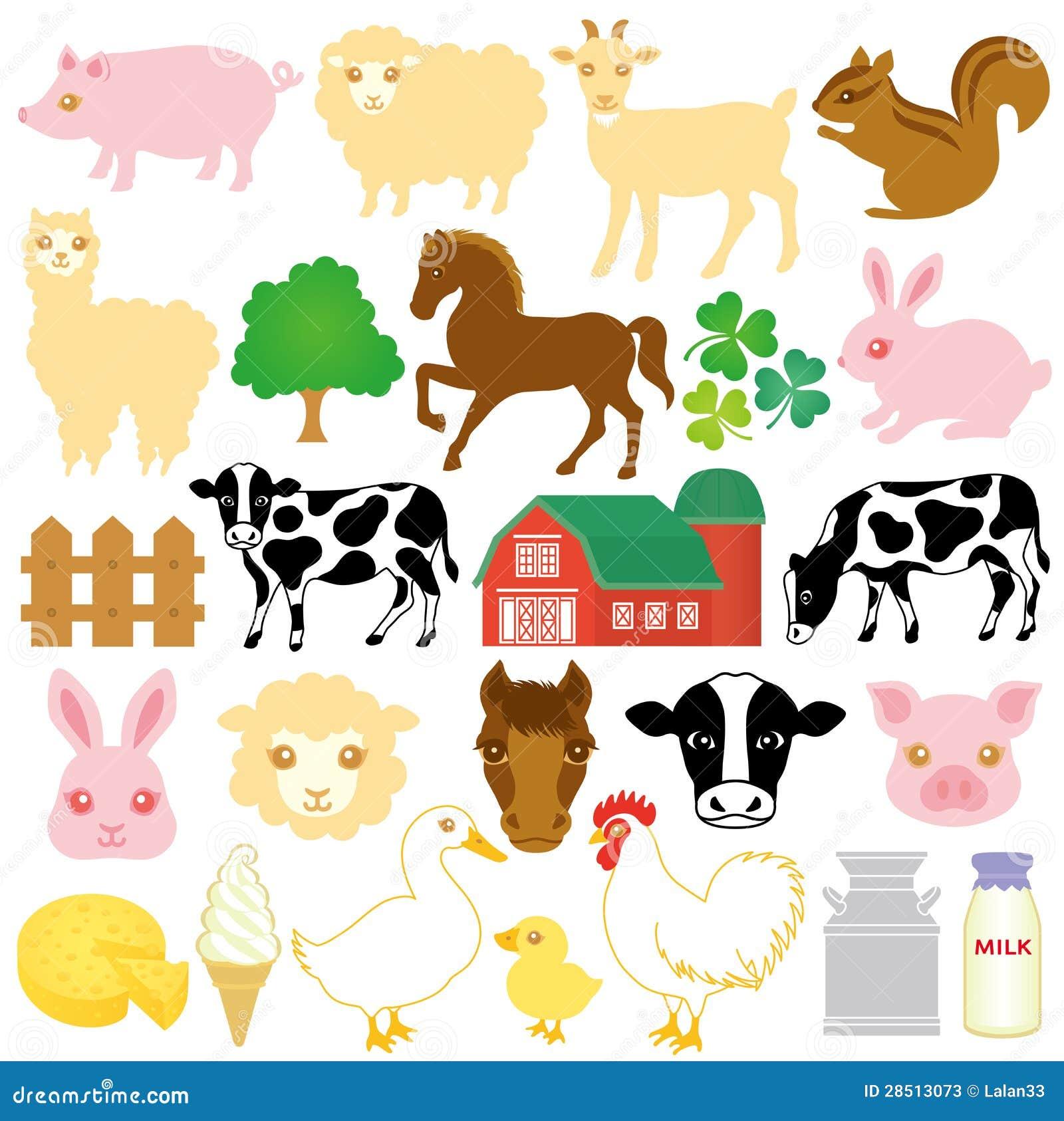 Stock Farm Icons Stock Photos Image 28513073
