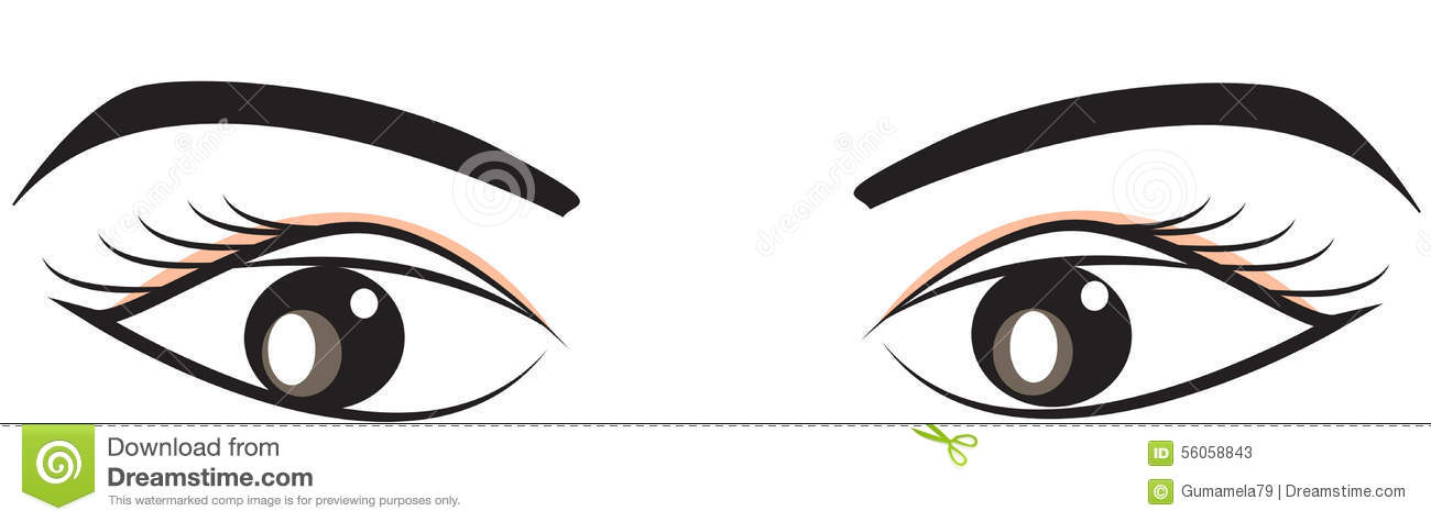 Eyebrows Cartoons Illustrations Vector Stock Images 6163