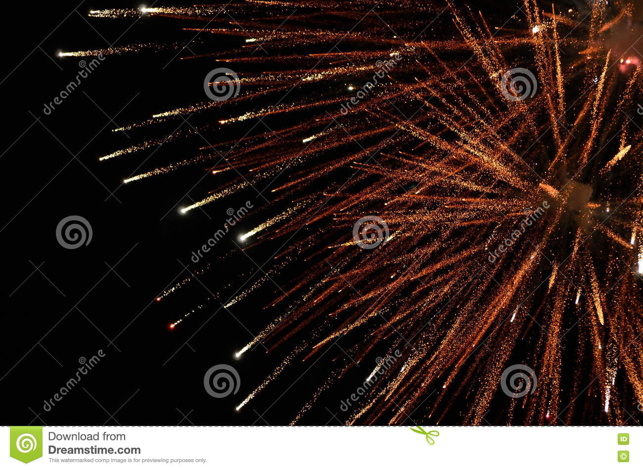 Stock image of fireworks