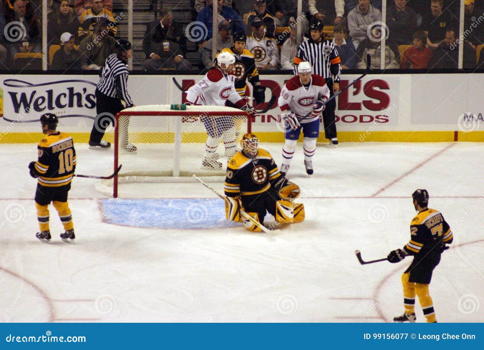 Start Of Ice Hockey Game
